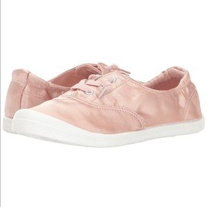98978647cf6f9 Madden Girl Brrookee blush pink satin sneakers